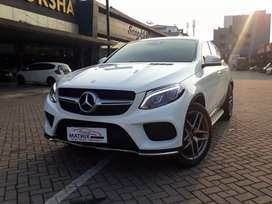 Mercy Gle400 Coupe Amg 2017 putih White 8rb Panoramic Warranty Atpm