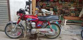 4 stroke motercycle in good condition