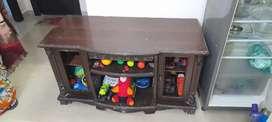 Wooden TV Cabinet cum wardrobe