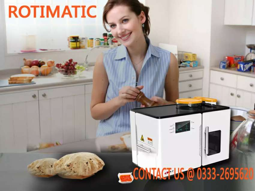 Rotimatic Now in Pakistan (An Automatic Roti Maker) 0