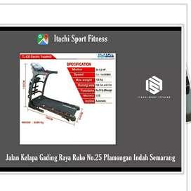 Alat Fitness Treadmill Elektrik ( COD Semarang )