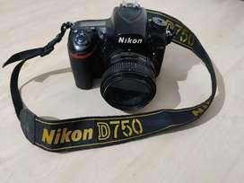 Nikon D750 with 50mm prime len