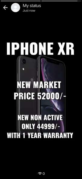New iphone xr 64 gb