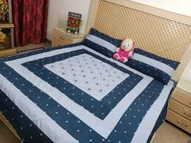 Digital embroidery bedsheets