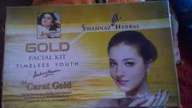 Gold fecial kit by shahnaaz husain