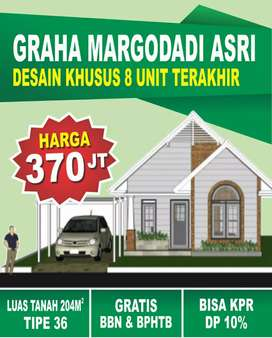 Rumah minimalis, Luas Tanah 204 m2 Hanya 300 Jtan