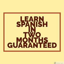 Learn Spanish language to open new doors for you.