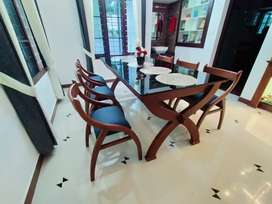 Factory direct wooden dining set available