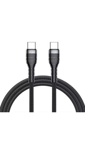 Kabel data tipe C to tipe C 3A ,Vivan KPD 120, 60W Quick Charging