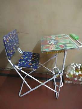 Foldable Study table with Chair...