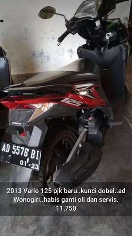 Vario 125 cc 2013 ad wonogiiri