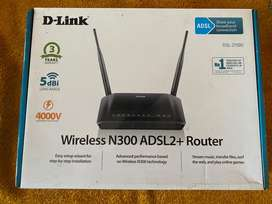 D Link wireless Router N300
