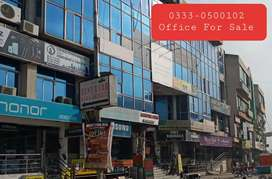 F-11 Markaz Main Double road Commercial Office For Sale Well Renovate