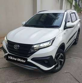 Toyota Rush TRD AT, Nik 2018, Putih, Km 18rb Asli, konsidi antik