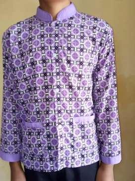 Baju batik siswa