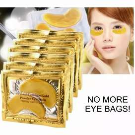 HS Masker Mata Crystal Collagen Gold / Eye Bag Mask Eyemask