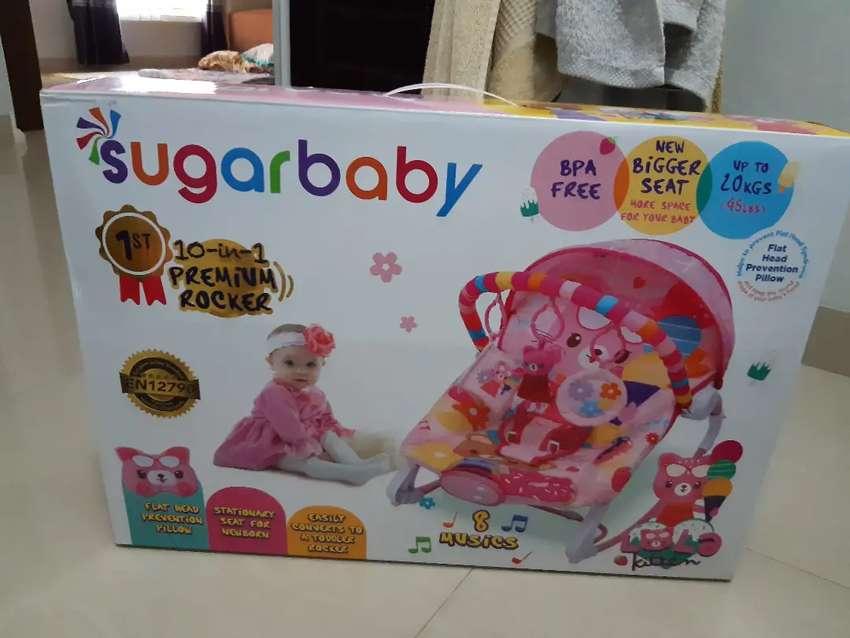 Sugar Baby Premium Rocker 10in1 Pink 0