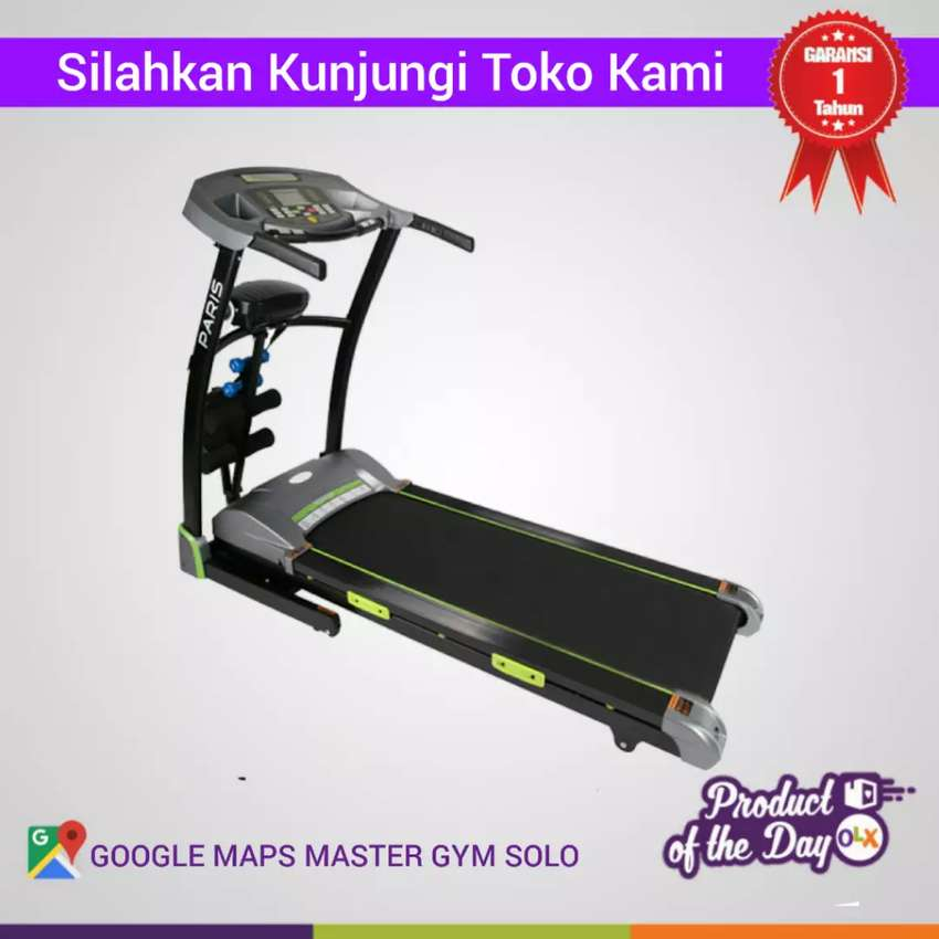 Alat Fitness Treadmill Elektrik MG Sports - By Master Gym !! #8981 0