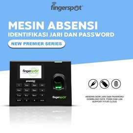 Mesin Absensi Sidik Jari Dan Password, Fingerspot New Premier Series