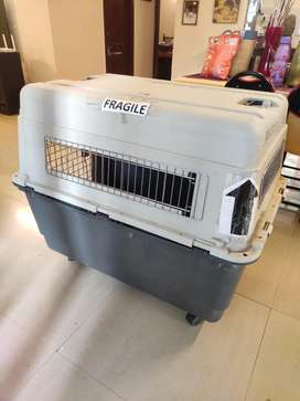 Dog cage for travel full size