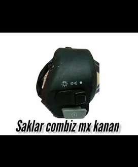 Holder kanan Mio MX aerox cocok untuk ubahan komplit saklar lampu
