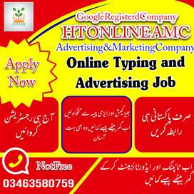 Online Typing and Advertising job