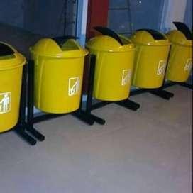 tong sampah bulat,bak sampah bulat,pabrik tong sampah fiber,bak sampah