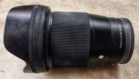 Sigma 16mm 1.4 for sony e mount APSC