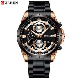 Jam tangan Chronograph Pria CURREN