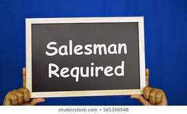 Sales man required ( should know hindi)