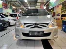 Toyota 2010 innova/ toyota innova bensin manual silver promo