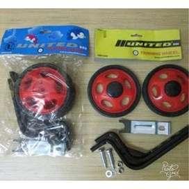 Roda Samping Sepeda Ukuran 12- 20 inch