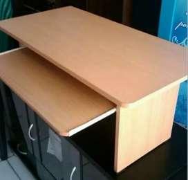 Meja komputer lesehan panjang 80 cm tinggi 36,5 siap cod