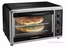 Imported German Countertop Electric Baking Toaster Oven With Rotisseri
