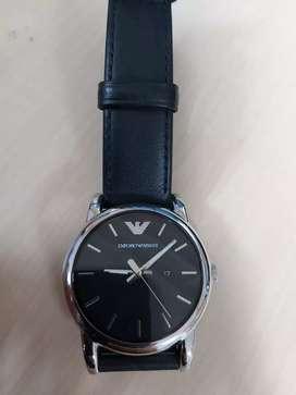 Dijual jam tangan Emporio Armani AR 1693 Black