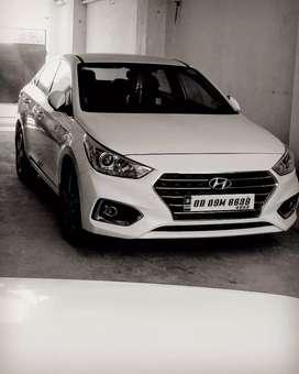 Hyundai Verna 2018 Diesel Good Condition