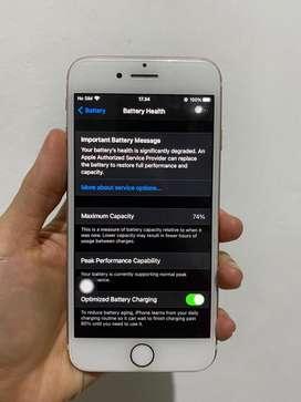 Iphone 7 128GB Rosegold