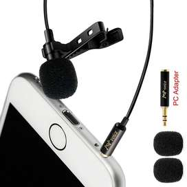 2019 Online Store Professional Lavalier Lapel Microphone Omnidirection