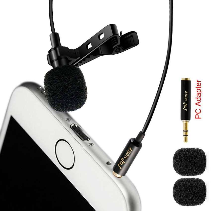 2019 Online Store Professional Lavalier Lapel Microphone Omnidirection 0