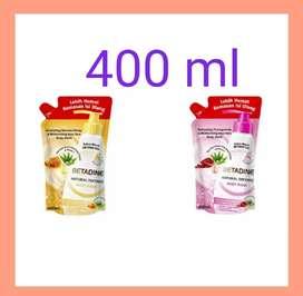 Refill Betadine Body Wash 400 ml