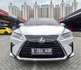 Lexus RX200t RX 200t Luxury ATPM 2016 Putih KM 32rb