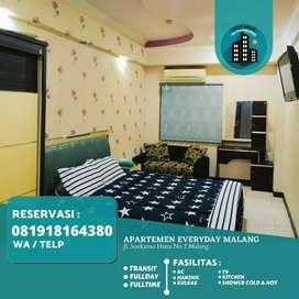 Sewa Kamar Apartemen, Transit , Fullday, Harian