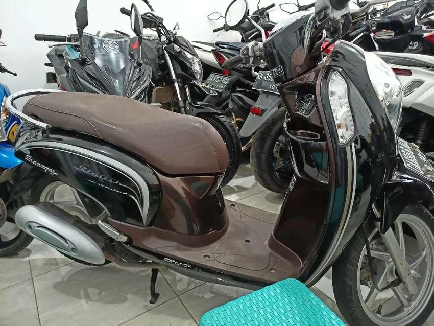 honda Scoopy hitam Coklat di Djaya Motor Antasari