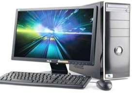 """Offer ! New Desktop-Dual Core,4GB,500GB,18"""" LED(3yr.) warranty - 10800"""