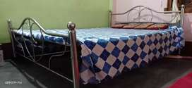 Steel Bed 5x7 ft ll @4500/-