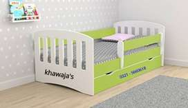 Supreme Quality Bed 2 in 1 brand new ( khawaja's