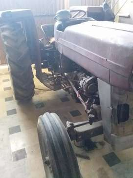 Usde tractor 135 & trali available for sale