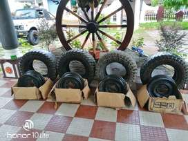Offroad Gypsy/Jeep Tyres and Rims