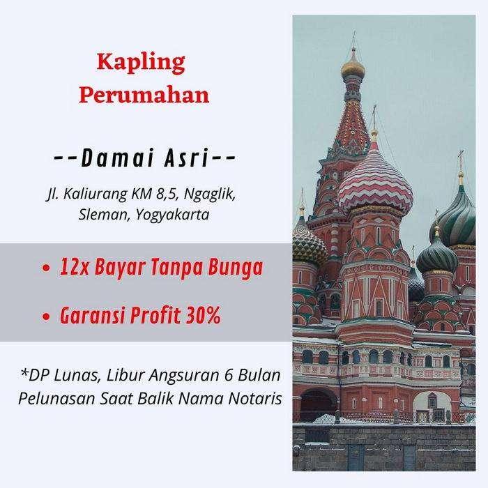 Kavling Murah Jl. Kaliurang KM 8,5 Sertipikat SHM 0