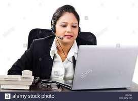 Urgent hiring for tellycaller girl